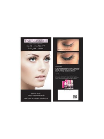 Brochures mascara semi permanent