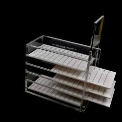 Boite de rangement plateaux de cils (lash storage box)