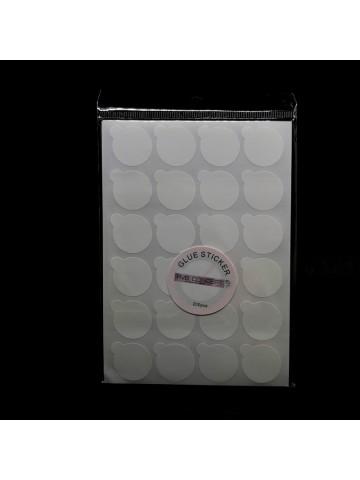 Adhesifs pour colle extensions de cils (glue stickers)