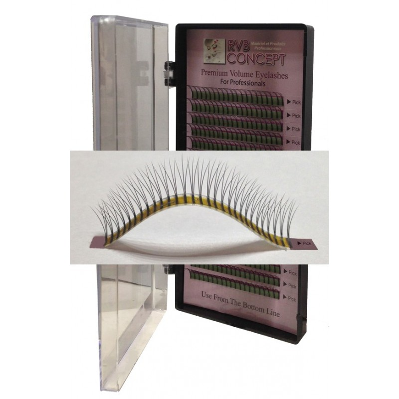 Extensions de cils Volume 3D lashes